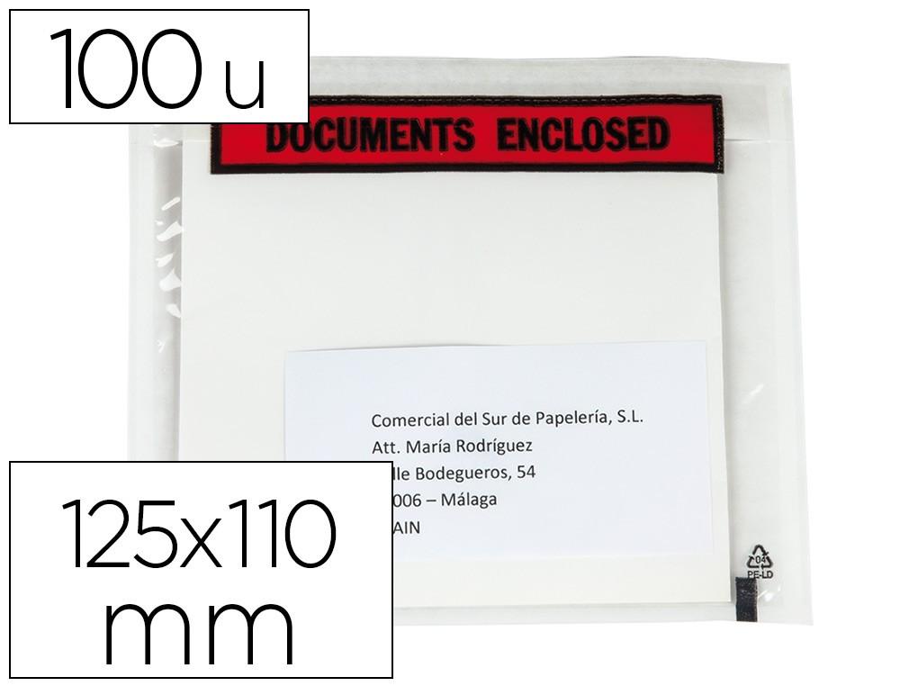 Sobre portadocumentos tama/ño A4 con cierre de cremallera color azul Q-Connect KF03667