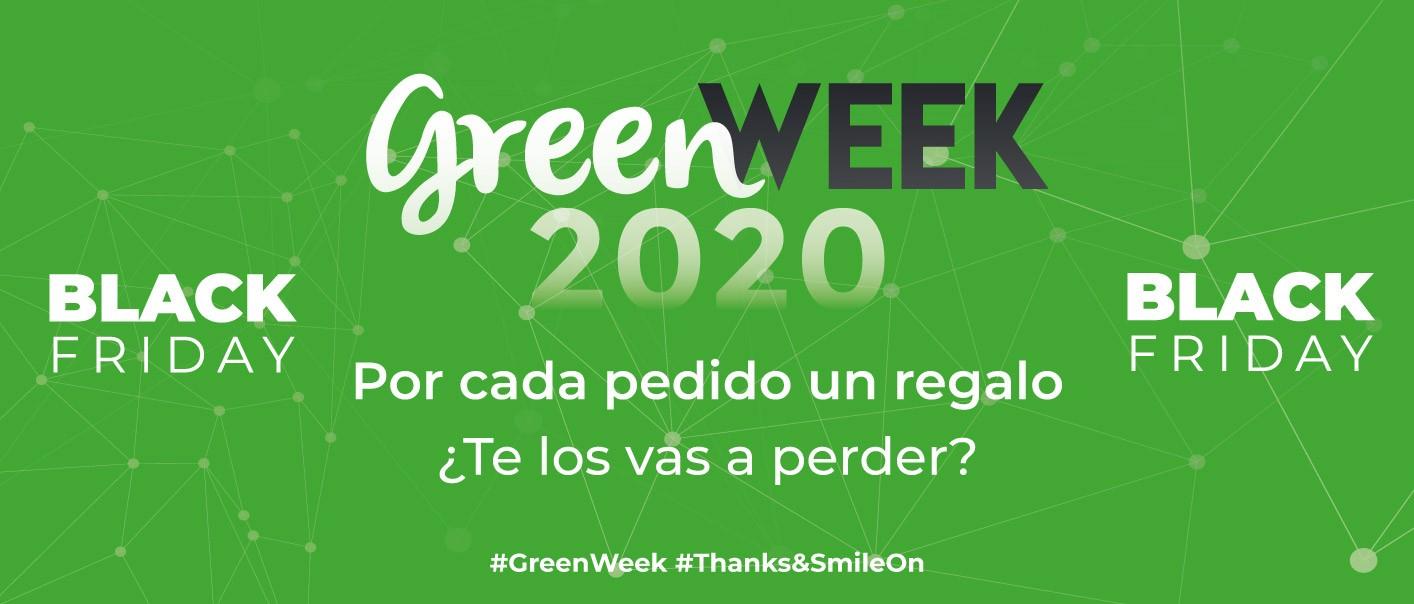 GreenWeek Piezas Banner