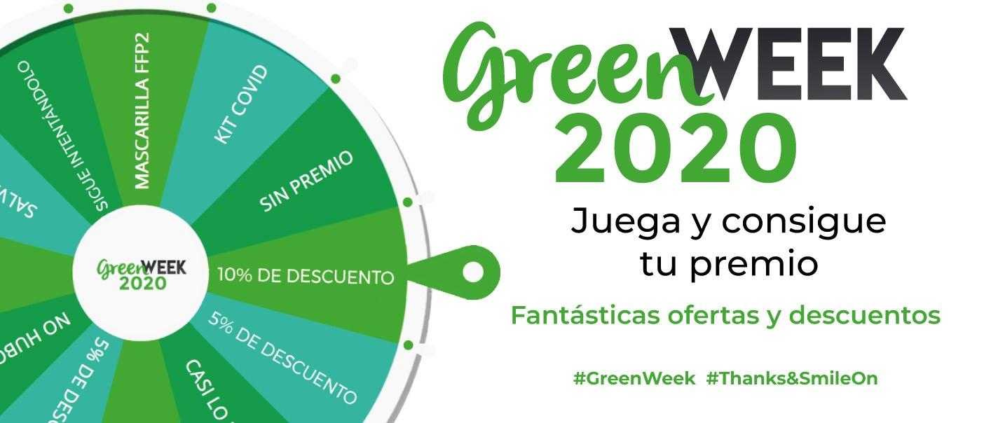 GreenWeek Piezas BannerRuleta