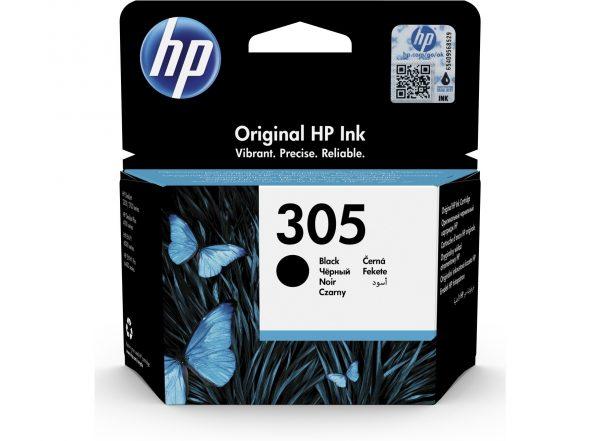 hp 305 tinta negro