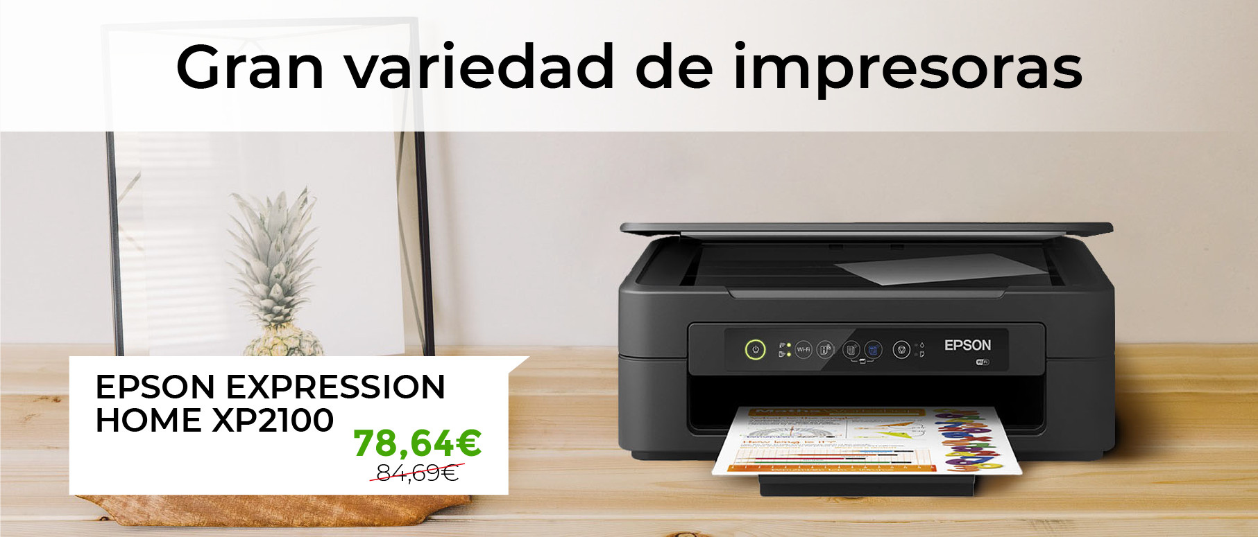 Banner Ecommerce Ecotisa Impresora EpsonXP2100