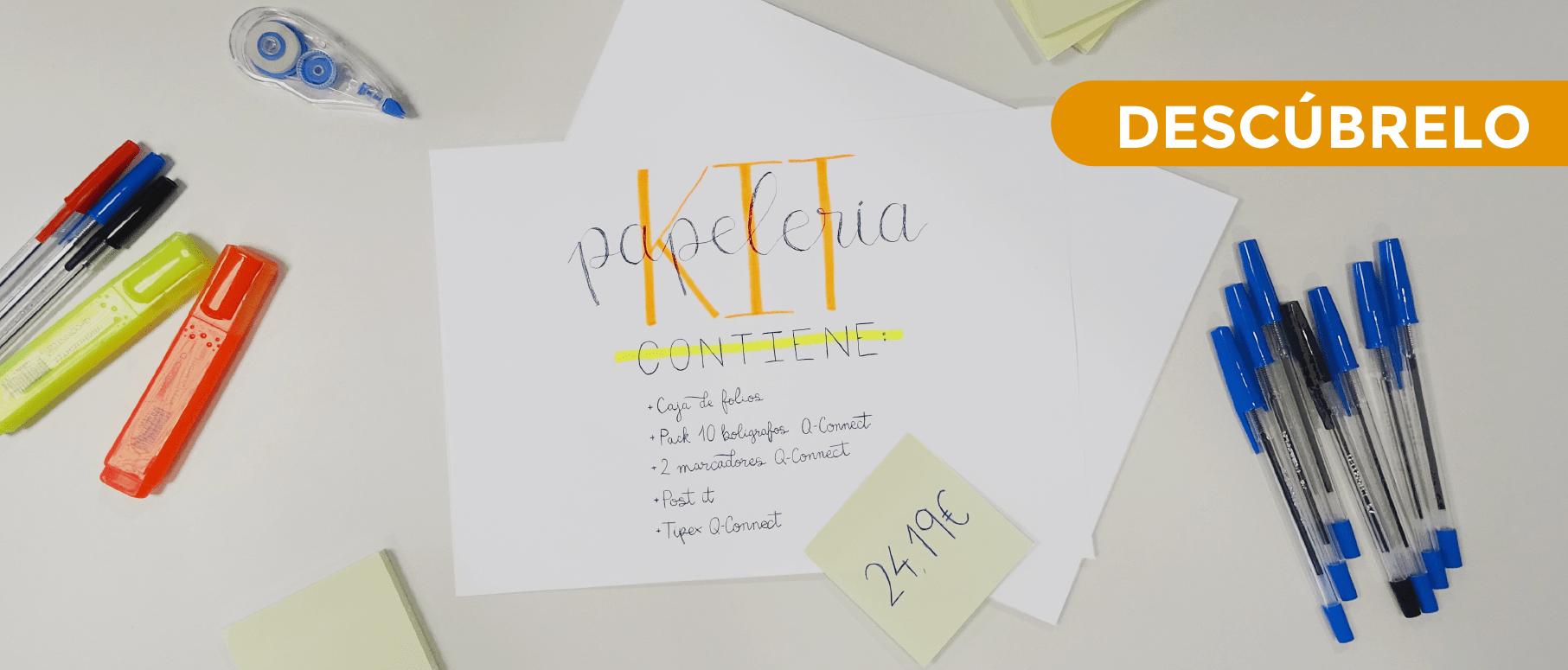 Banner Ecommerce Ecotisa Kit papeleria
