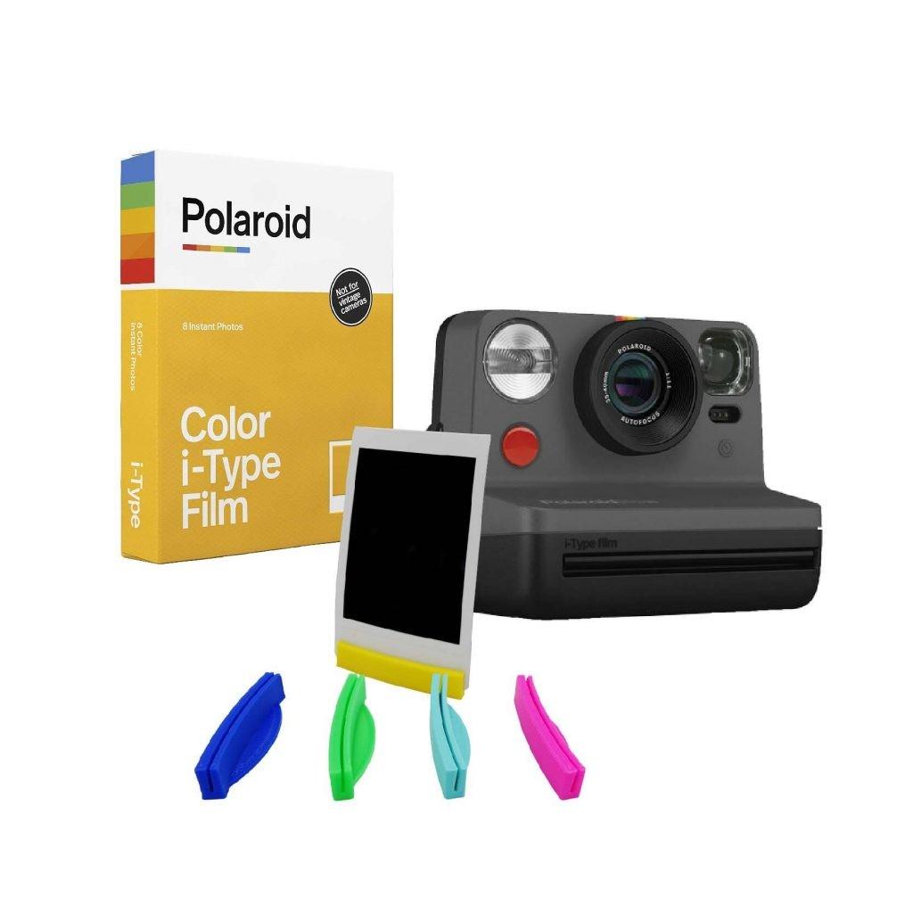 Pack Polaroid Camara Polaroid Color iType Film Soportes3D