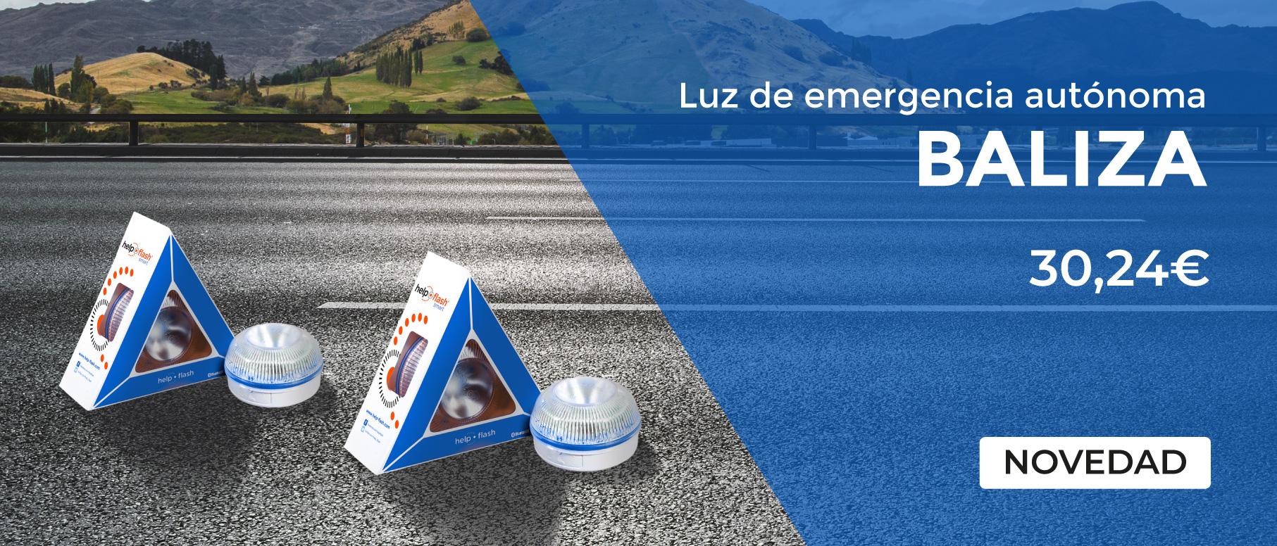 Banner Ecommerce Ecotisa Balizas azules
