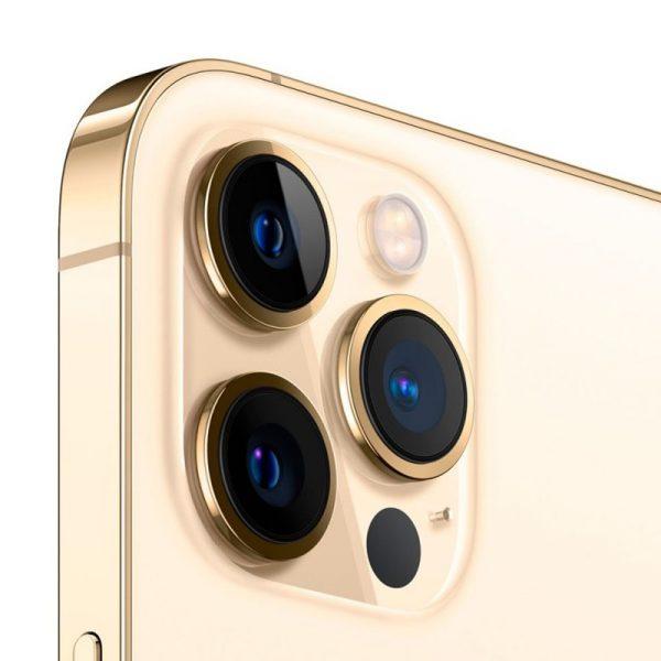 Iphone 12 Pro Max 512GB Oro Camara