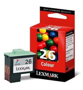 lexmark 26 tinta tricolor