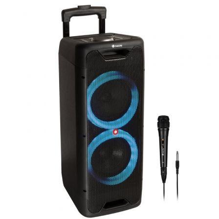 altavoz portatil con microfono ngs