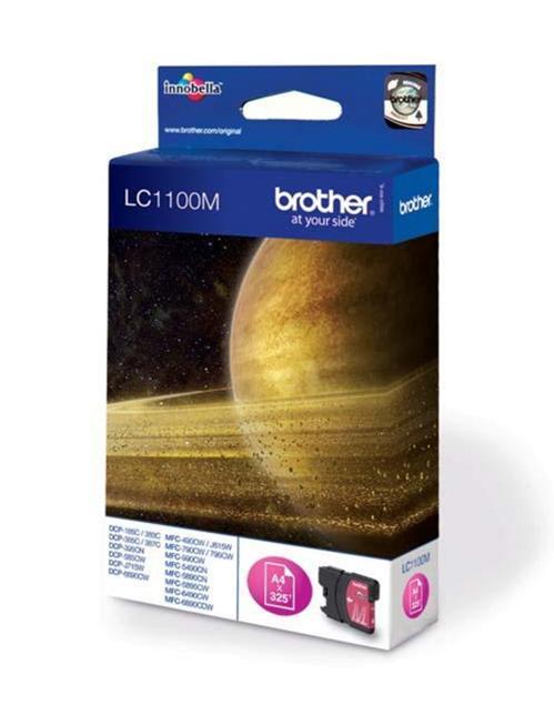 brother lc1100m tinta magenta