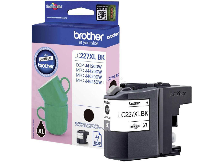 brother lc227xlbkbp tinta negro original