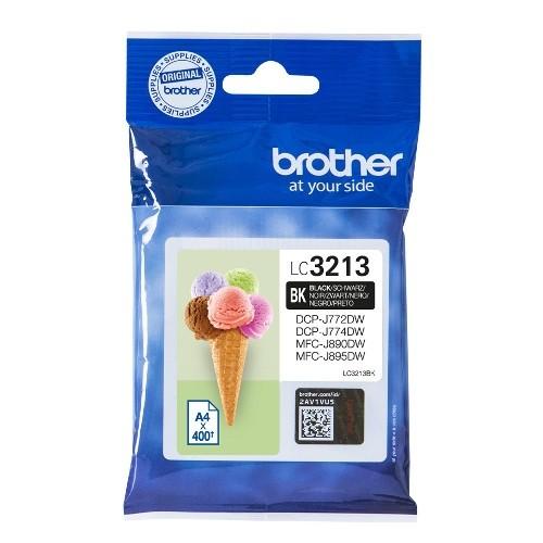 brother lc3213bk tinta negro original