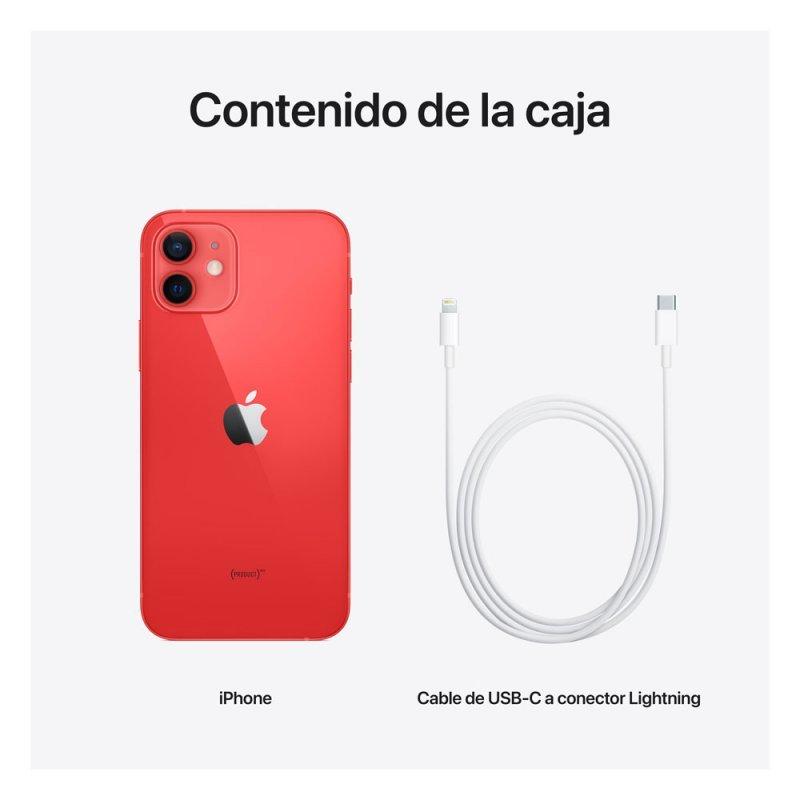 comprar iphone 12 mini 256gb 5g rojo