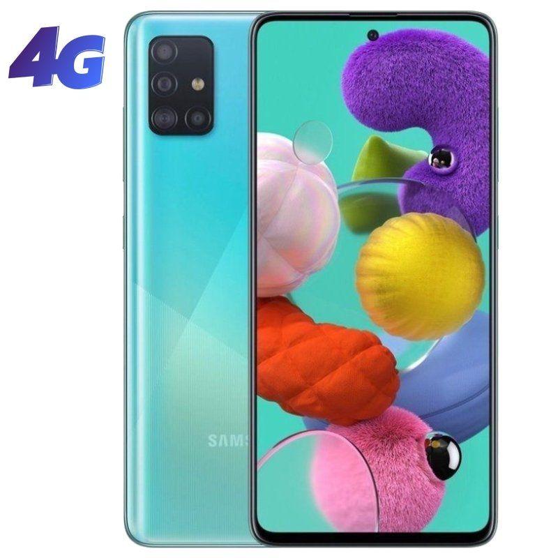 samsung galaxy a51 4gb 128gb azul