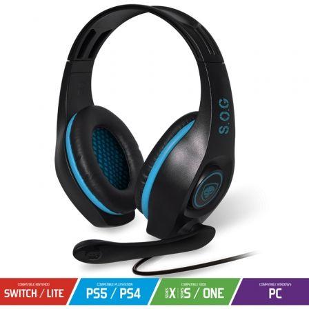 spirit of gamer pro h5 azules