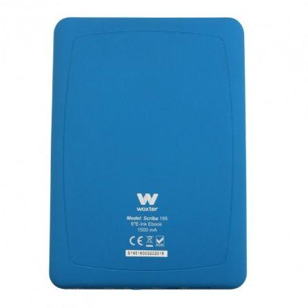woxter scriba 195 azul libro electronico ebook 6 especificaciones