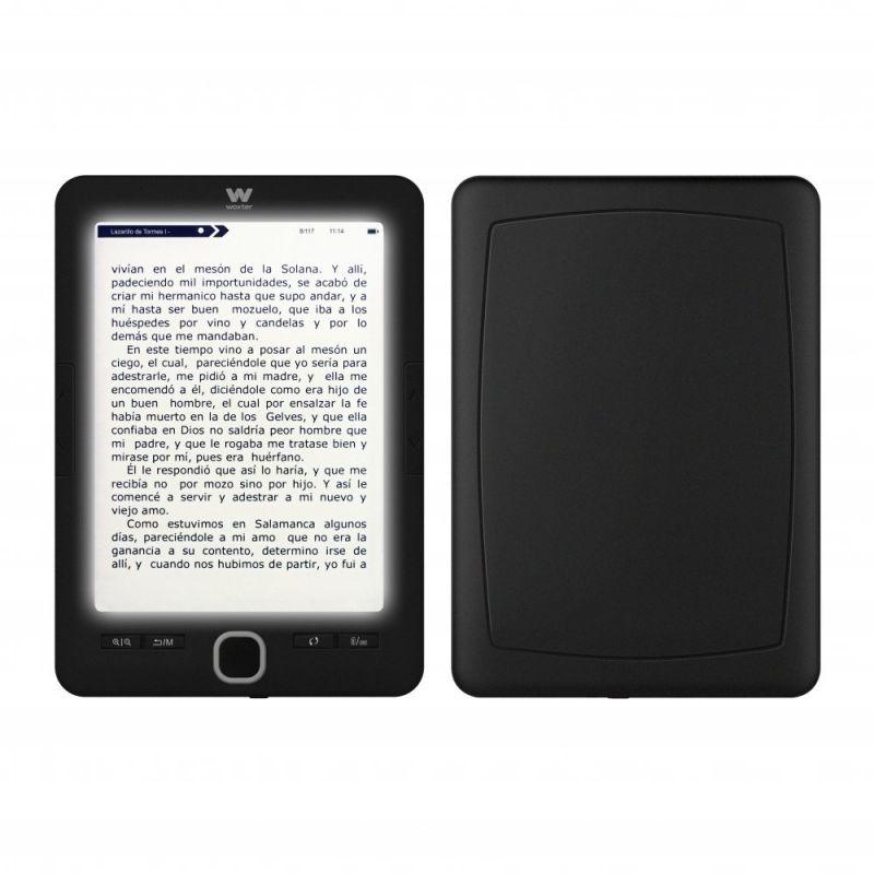 woxter scriba 195 paperlight black libro electronico ebook 6 especificaciones