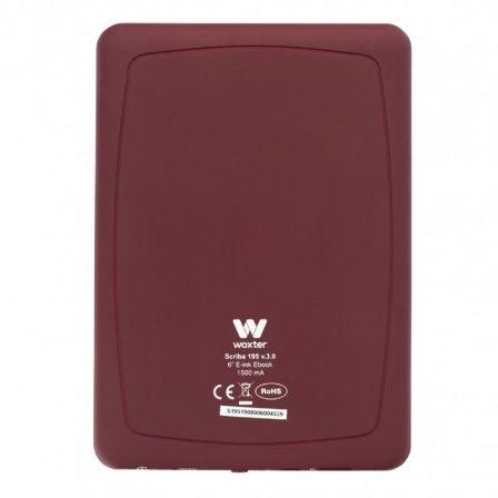 woxter scriba 195 rojo libro especificaciones
