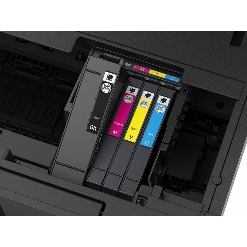 impresora cartuchos color epson wf 4830dtwf 3