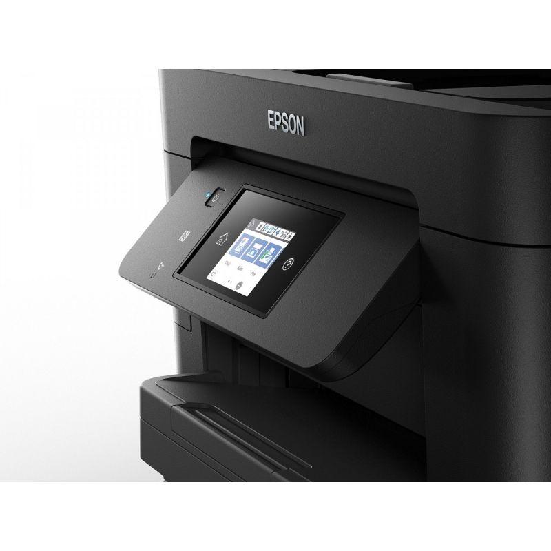 impresora multifuncion epson wf 4830dtwf tinta color